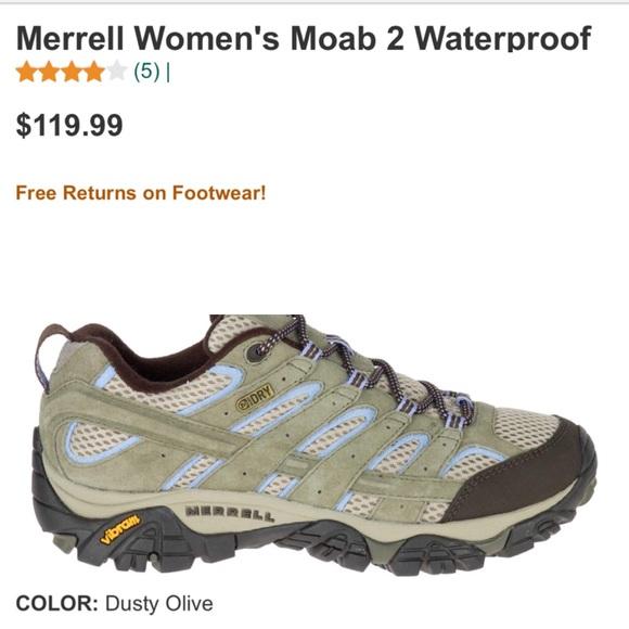 Merrell Shoes   Moab 2 Waterproof